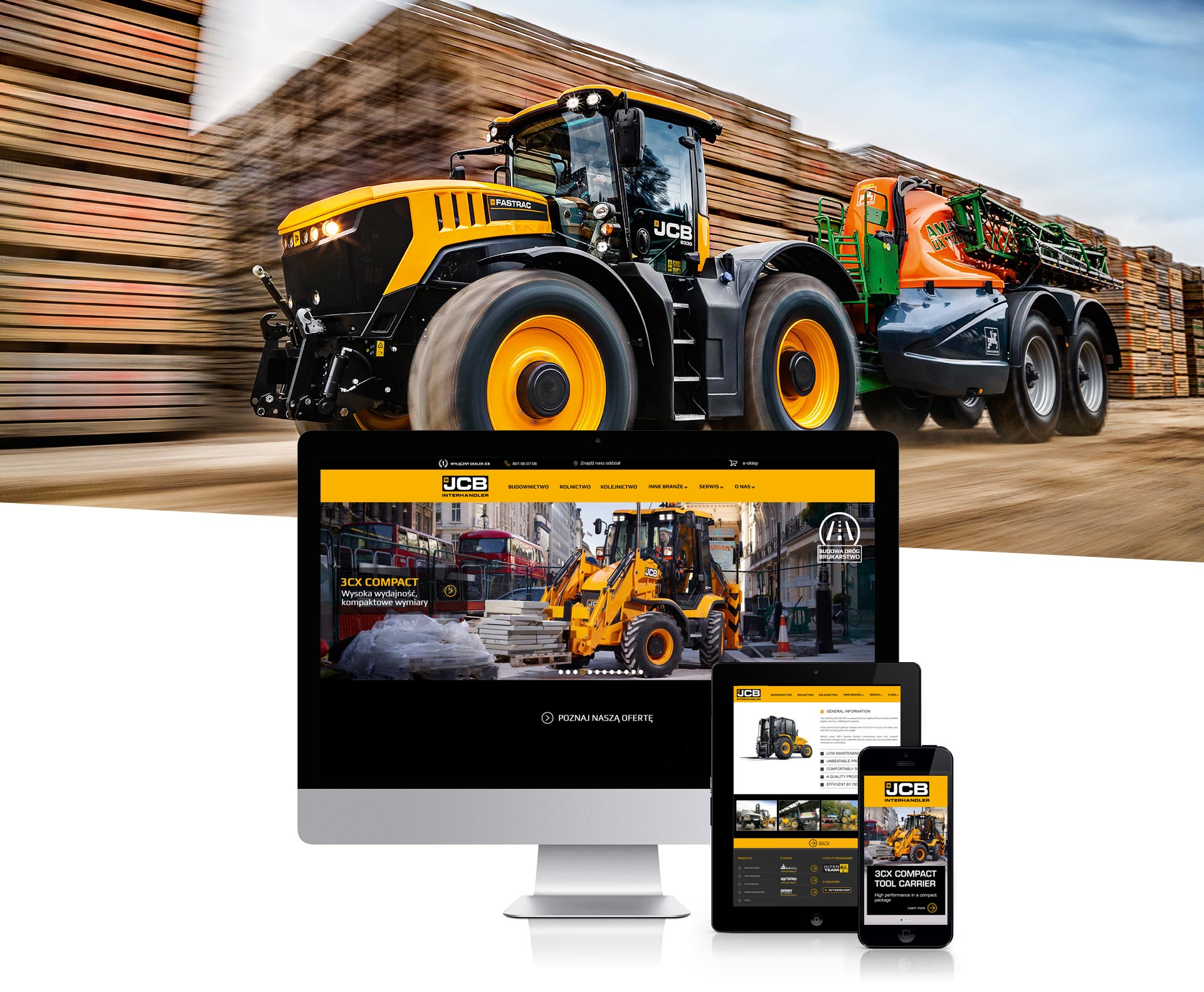 JCB - website